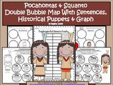A+ Pocahontas And Squanto Double Bubble With Sentences,Pup