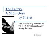 A Power point Lesson--The Lottery by Shirley Jackson