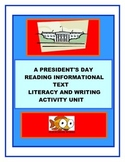 A President's Day Reading Informational Text Literacy Unit