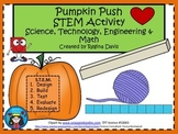 A+ Pumpkin Push S.T.E.M. Activity: Science, Technology, En
