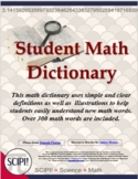 Simple Math Dictionary