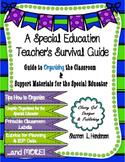 A Special Education Teacher's Survival Guide: Organization