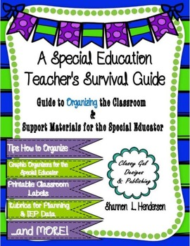 A Special Education Teacher's Survival Guide to Organization