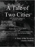 A Tale of Two Cities: Book the First Close Reading, NOT Bo