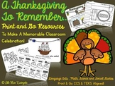 A Thanksgiving To Remember...