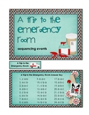A Trip to the Emergency Room: sequencing events game