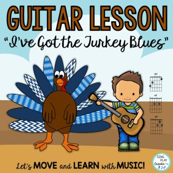 """Thanksgiving Song *Singing *Guitar *Piano *Mp3 Track """"I've"""