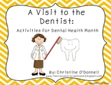 A Visit to the Dentist: Shared Reader, activities, printables!
