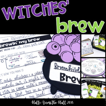 A Witch and Wizard's Spell {a Halloween Writing and Crafti