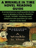 """A Wrinkle in Time"" Reading Guide Packet"