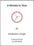 A Wrinkle in Time - (Reed Novel Studies)