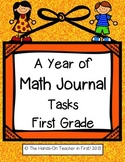A Year of Math Journal Problems and Tasks: Common Core Based!
