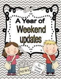A Year of Weekend Updates