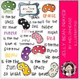 A jelly bean prayer by Melonheadz