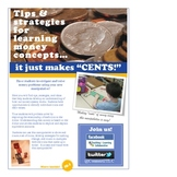 """A money manipulative that makes """"cents!"""""""