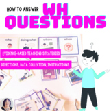 A program to teach Wh questions: Special Education Autism