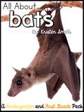 A week of Bats! -- Word Work, Vocabulary, Math Bins, Lesso
