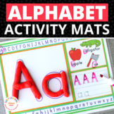 ABC Play Dough & Activity Mats: Multisensory Alphabet Reco