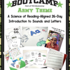 ABC BOOTCAMP!  An Editable 26 Day Introduction To Letters