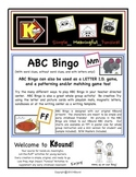ABC Bingo. KBound Characters!  A Funsical Favorite! Many W