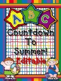 ABC Countdown To Summer (Editable)