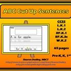 ABC Cut Up Sentences