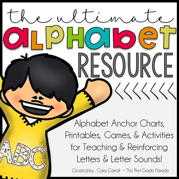 ABC ~ Easy as 1,2,3! {Alphabet Anchor Charts, Activities, & Printables}