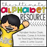 ABC ~ Easy as 1,2,3! {Alphabet Anchor Charts, Activities,