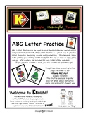 ABC Letter Practice.  Handwriting made Funsical!