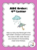 ABC Order (to the 4th letter)
