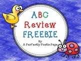 ABC Review FREEBIE
