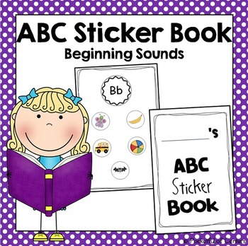 ABC Sticker Book