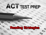 ACT Reading Strategies Test Prep FREE