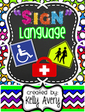 Real World Text, Informational Text, Public Signs, Life Sk