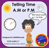 A.M. or P.M. - 2nd Grade Common Core 2.MD.C.7