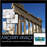 ANCIENT GREECE:  It's all Greek to me - activities and int