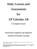 AP* Calculus AB, A Complete Course