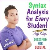 AP English SYNTAX Unit