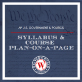 AP Government and Politics Syllabus and Course Plan
