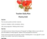 AP Level Poetry & Writing Unit