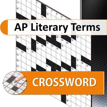 AP Literary Terms Crossword Puzzle
