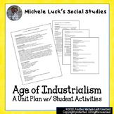 AP World History Age of Industrialism Unit Plan w/Student