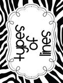 ART: Types of Lines Bulletin Board