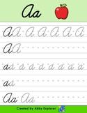 Abby Explorer - Cursive Script Tracing