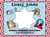 Abigail Adams Bilingual Social Studies Unit
