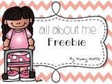 About Me {Freebie}