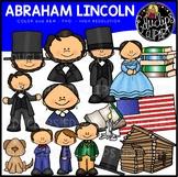 Abraham Lincoln Clip Art Bundle