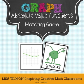 Absolute Value Functions Matching Game