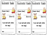 Accelerated Reader Bookmark