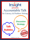 Accountable Talk Bubbles for Literacy & Problem Solving